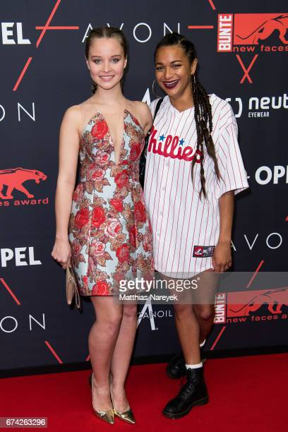 Sonja Gerhardt and guest attend the New Faces Award Film at Haus Ungarn on April 27 2017 in Berlin Germany