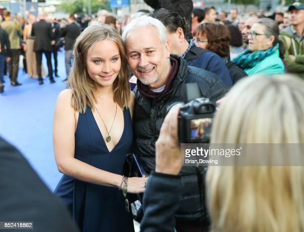 Sonja Gerhardt arrives at the 6th German Actor Award Ceremony at Zoo Palast on September 22 2017