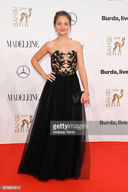 Sonja Gerhardt arrives at the Bambi Awards 2016 at Stage Theater on November 17 2016 in Berlin Germany