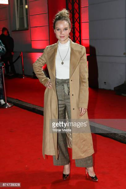 Sonja Gerhardt arrives at the New Faces Award Style 2017 on November 15 2017 in Berlin Germany