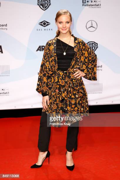 Sonja Gerhardt attends the First Steps Award 2017 at Stage Theater on September 18 2017 in Berlin Germany
