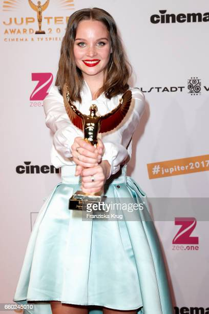 Sonja Gerhardt attends the Jupiter Award at Cafe Moskau on March 29 2017 in Berlin Germany