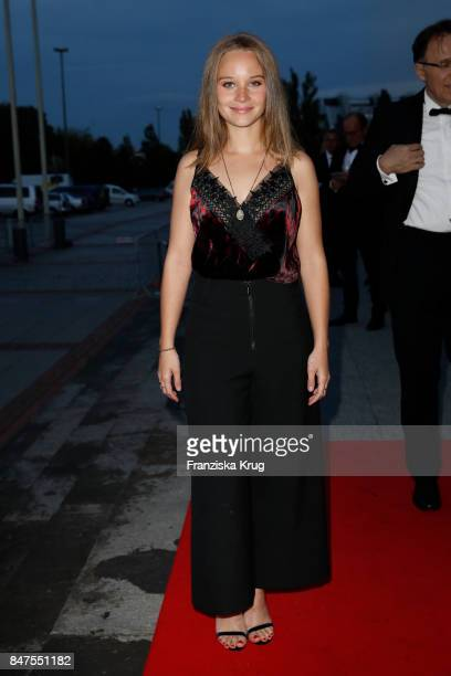 Sonja Gerhardt attends the UFA 100th anniversary celebration at Palais am Funkturm on September 15 2017 in Berlin Germany
