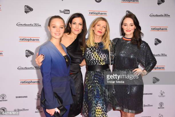 Sonja Gerhardt Bettina Zimmermann Ursula Karven and Maria Ehrich attend the 99FireFilmsAward at Admiralspalast on February 16 2017 in Berlin Germany