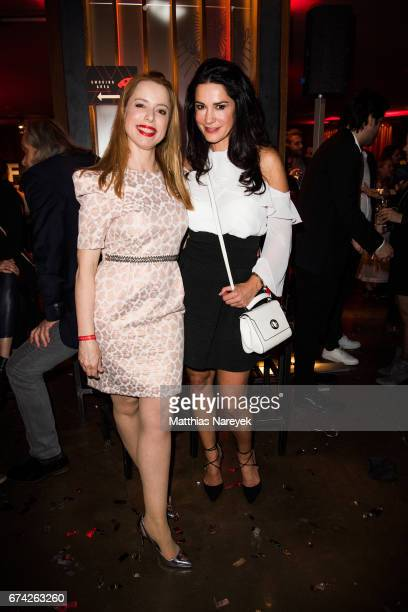 Sonja Kerskes and Mariella Ahrens attend the New Faces Award Film at Haus Ungarn on April 27 2017 in Berlin Germany