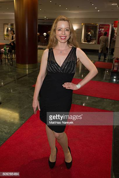 Sonja Kerskes attends the Askania awards 2016 on February 9 2016 in Berlin Germany