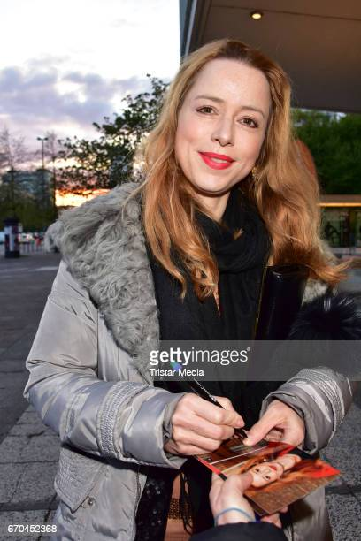 Sonja Kerskes attends the Berlin Filmfestival Opening 'Achtung Berlin' With The Movie Beat Beat Heart on April 19 2017 in Berlin Germany