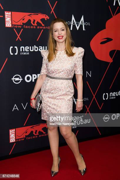 Sonja Kerskes attends the New Faces Award Film at Haus Ungarn on April 27 2017 in Berlin Germany