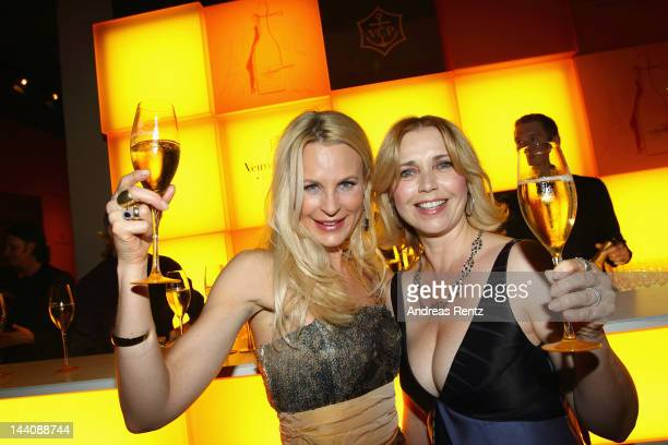 Sonja Kiefer and Tina Ruland attend the 26th Prix Veuve Clicquot 'Fuer die Unternehmerin des Jahres 2012' at Umspannwerk / Yellow Cube on May 9 2012...