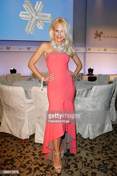 Sonja Kiefer attends the Felix Burda Award 2013 at Hotel Adlon on April 14 2013 in Berlin Germany
