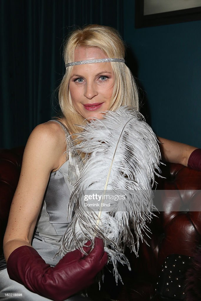 Sonja Kiefer attends the Lazy Moon Dinner Club opening party on February 20, 2013 in Munich, Germany.
