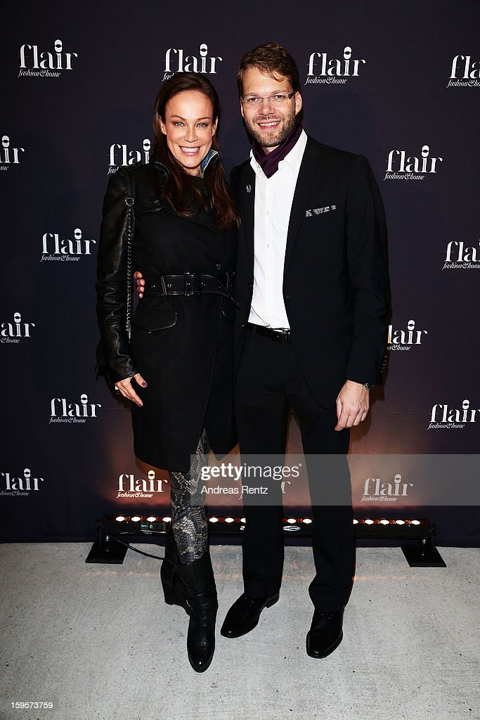 Sonja Kirchberger and Kai Rose attend Flair Magazine Party at Pariser Platz 4 on January 15, 2013 in Berlin, Germany.
