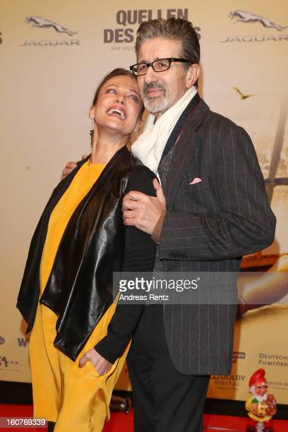 Sonja Kirchberger and Rolf Zacher attends 'Quelle des Lebens' Germany Premiere at Delphi Filmpalast on February 5 2013 in Berlin Germany