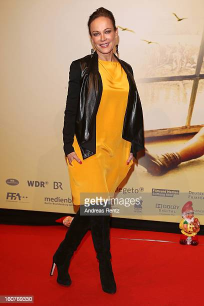 Sonja Kirchberger attends 'Quelle des Lebens' Germany Premiere at Delphi Filmpalast on February 5 2013 in Berlin Germany