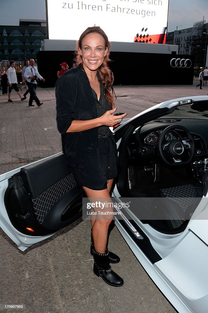 Sonja Kirchberger attends the ' Audi Urban Cinema ' on June 20, 2013 in Berlin, Germany.