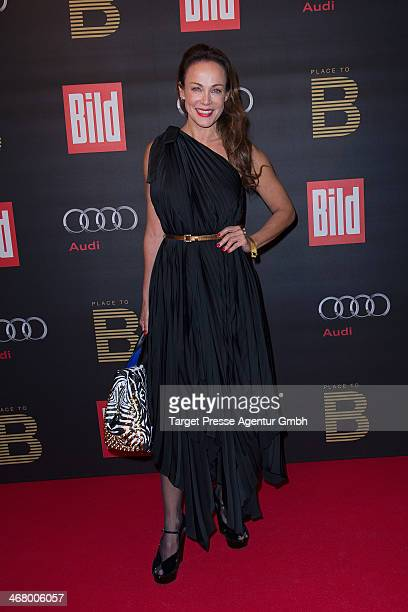 Sonja Kirchberger attends the BILD 'Place to B' Party at Grill Royal on February 8 2014 in Berlin Germany