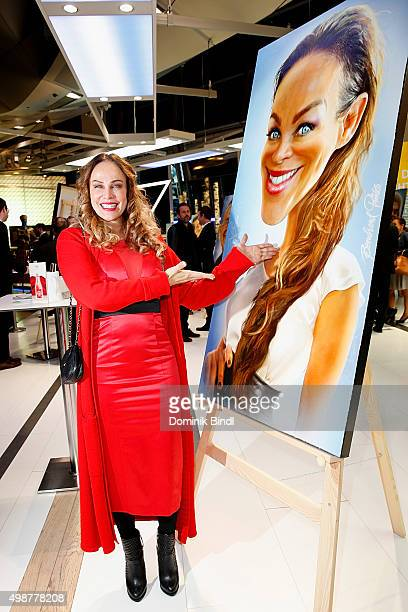 Sonja Kirchberger attends the Querdenker Award 2015 at BMW World on November 25 2015 in Munich Germany