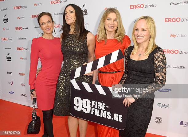 Sonja Kirchberger Bettina Zimmermann Ursula Karven and Dorkas Kiefer attend the 5th '99FireFilmsAward' Red Carpet Arrivals at Admiralspalast on...