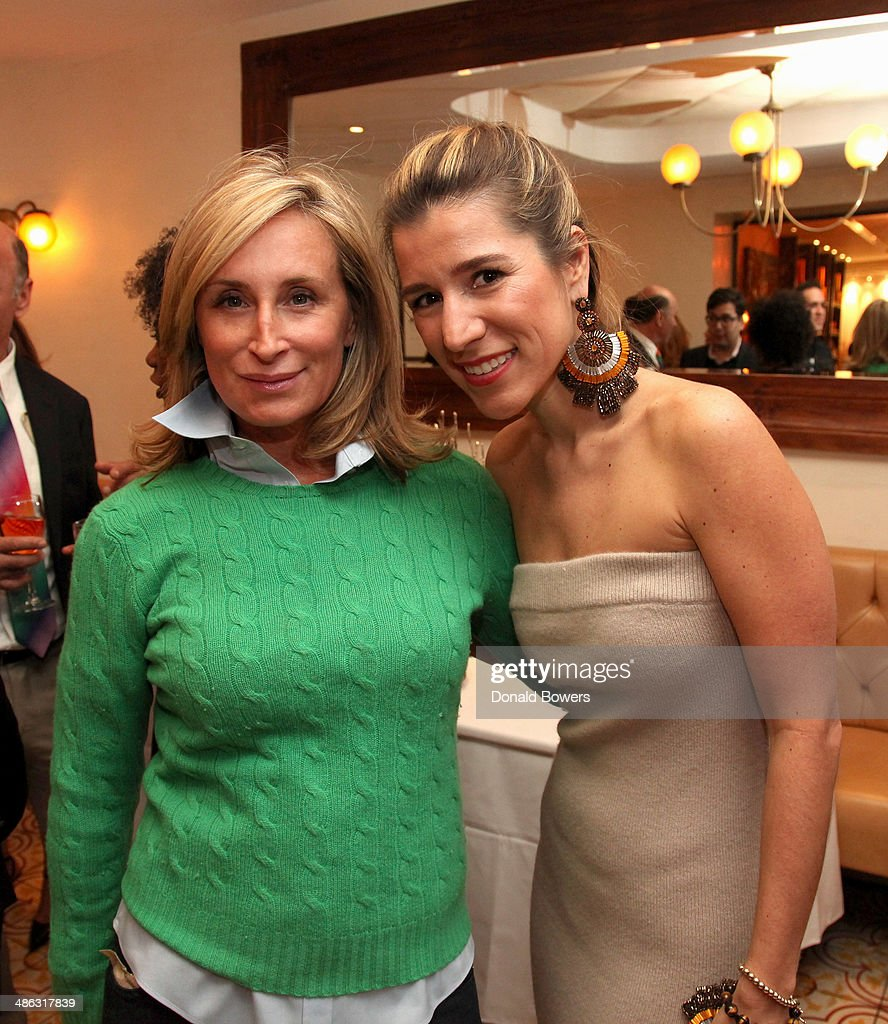 <a gi-track='captionPersonalityLinkClicked' href=/galleries/search?phrase=Sonja+Morgan&family=editorial&specificpeople=6346743 ng-click='$event.stopPropagation()'>Sonja Morgan</a> and Fernanda Capobianco attend Fernanda Capobianco and Amanda Hearst's reception to unveil cruelty-free accessory line, The New Yorker Collection at FP Patisserie on April 23, 2014 in New York City.