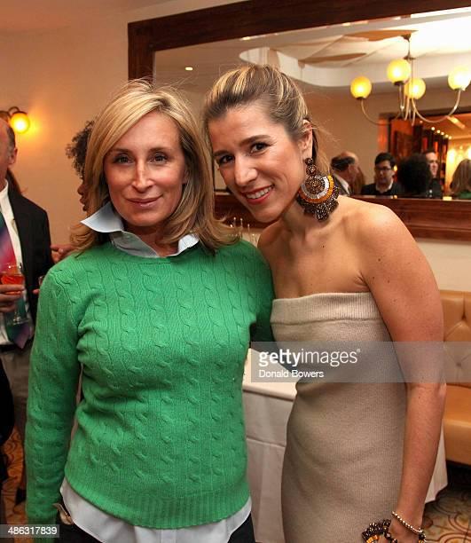 Sonja Morgan and Fernanda Capobianco attend Fernanda Capobianco and Amanda Hearst's reception to unveil crueltyfree accessory line The New Yorker...