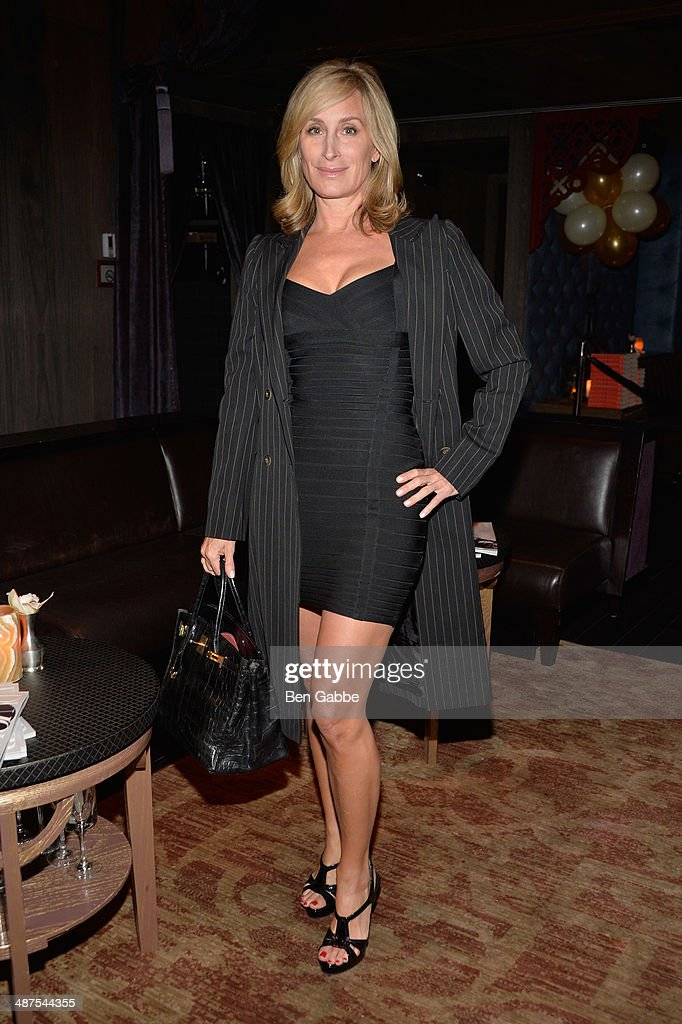 Sonja Morgan attends DuJour Magazine's Jason Binn along with Lisa And James Cohen celebration of Arianna Huffington's #1 bestseller 'Thrive' at TAO Lounge Downtown on April 30, 2014 in New York City.
