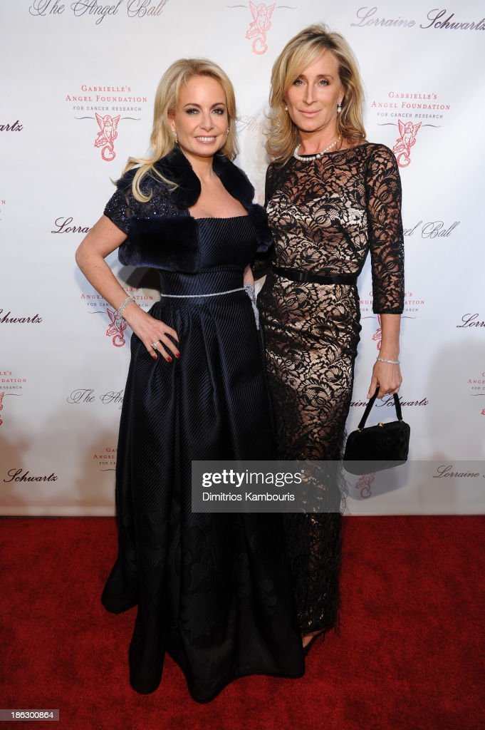 Sonja Morgan (R) attends Gabrielle's Angel Foundation Hosts Angel Ball 2013 at Cipriani Wall Street on October 29, 2013 in New York City.