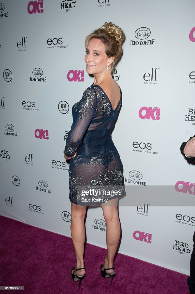 Sonja Morgan attends OK! Magazine 'So Sexy' Party at Marquee on May 1, 2013 in New York City.