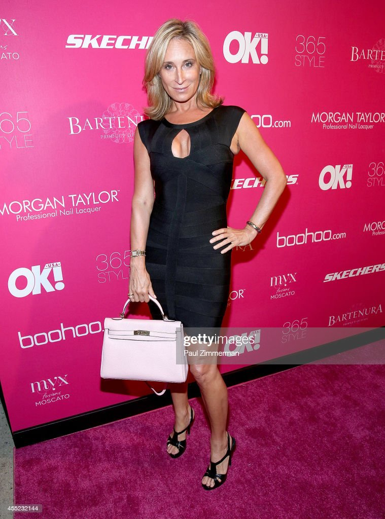 Sonja Morgan attends OK Magazine's 8th Annual New York Fashion Week Celebration at VIP Room NYC on September 10 2014 in New York City