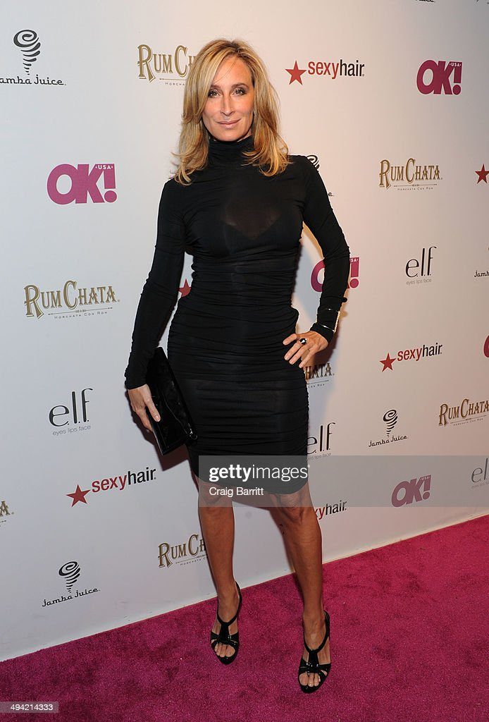 Sonja Morgan attends OK! Magazine's 'So Sexy' NY party at Marquee on May 28, 2014 in New York City.