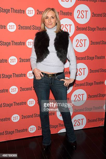 Sonja Morgan attends the 2014 Second Stage Theatre's AllStar Bowling Classic fundraiser at Lucky Strike Lanes Lounge on February 3 2014 in New York...