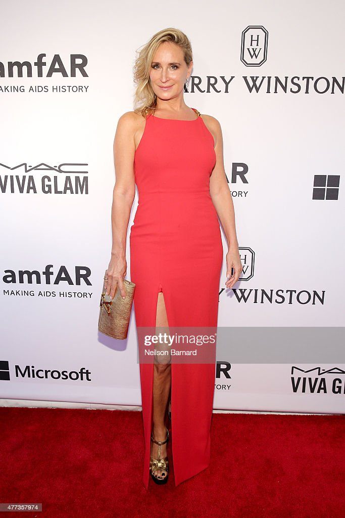 Sonja Morgan attends the 2015 amfAR Inspiration Gala New York at Spring Studios on June 16 2015 in New York City