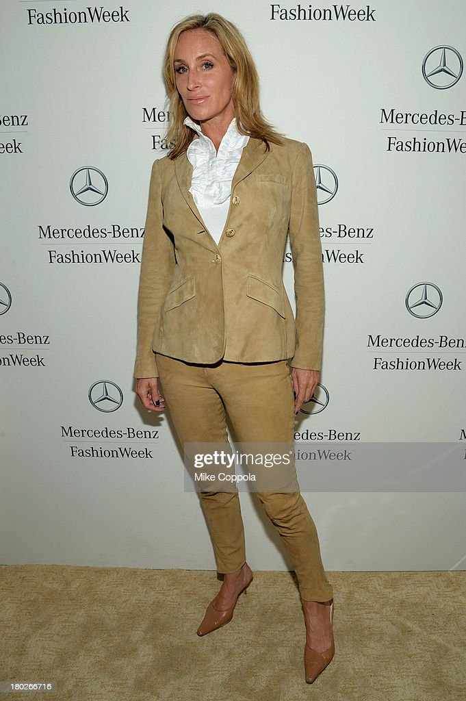 Sonja Morgan attends the MercedesBenz Star Lounge during MercedesBenz Fashion Week Spring 2014 on September 10 2013 in New York City