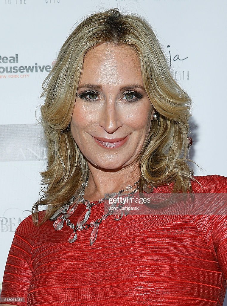 Sonja Morgan attends 'The Real Housewives of New York City' season 8 premiere party at Beautique on March 29 2016 in New York City