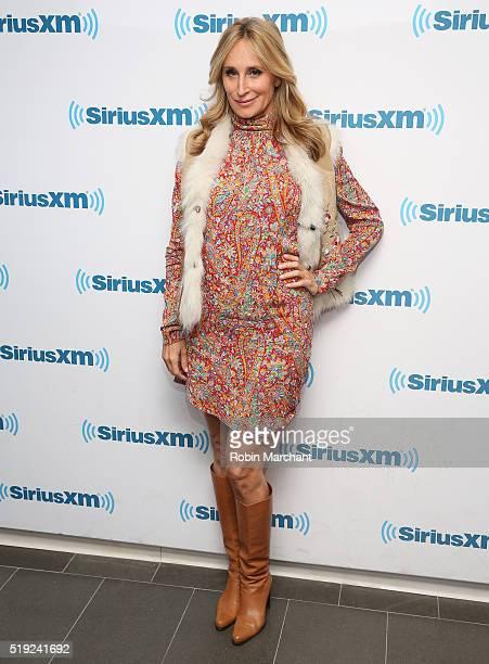 Sonja Morgan visits at SiriusXM Studio on April 5 2016 in New York City