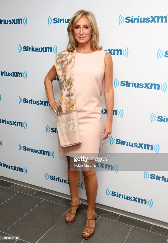 Sonja Morgan visits at SiriusXM Studios on April 22 2014 in New York City