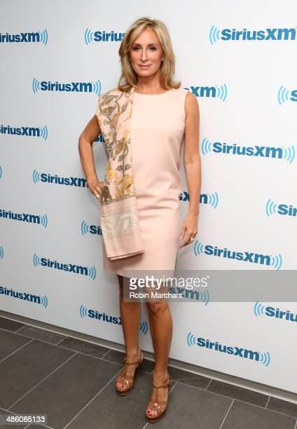 Sonja Morgan visits at SiriusXM Studios on April 22 2014 in New York City