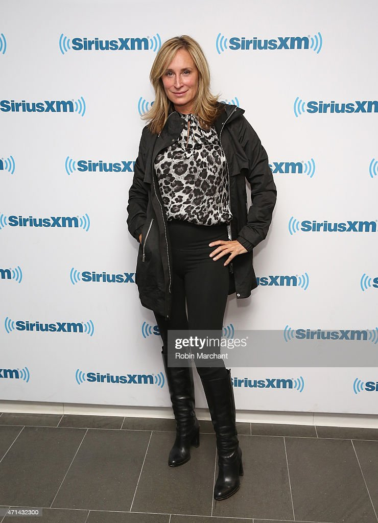 Sonja Morgan visits at SiriusXM Studios on April 28 2015 in New York City