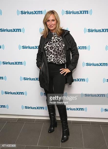 Sonja Morgan visits at SiriusXM Studios on April 28 2015 in New York City