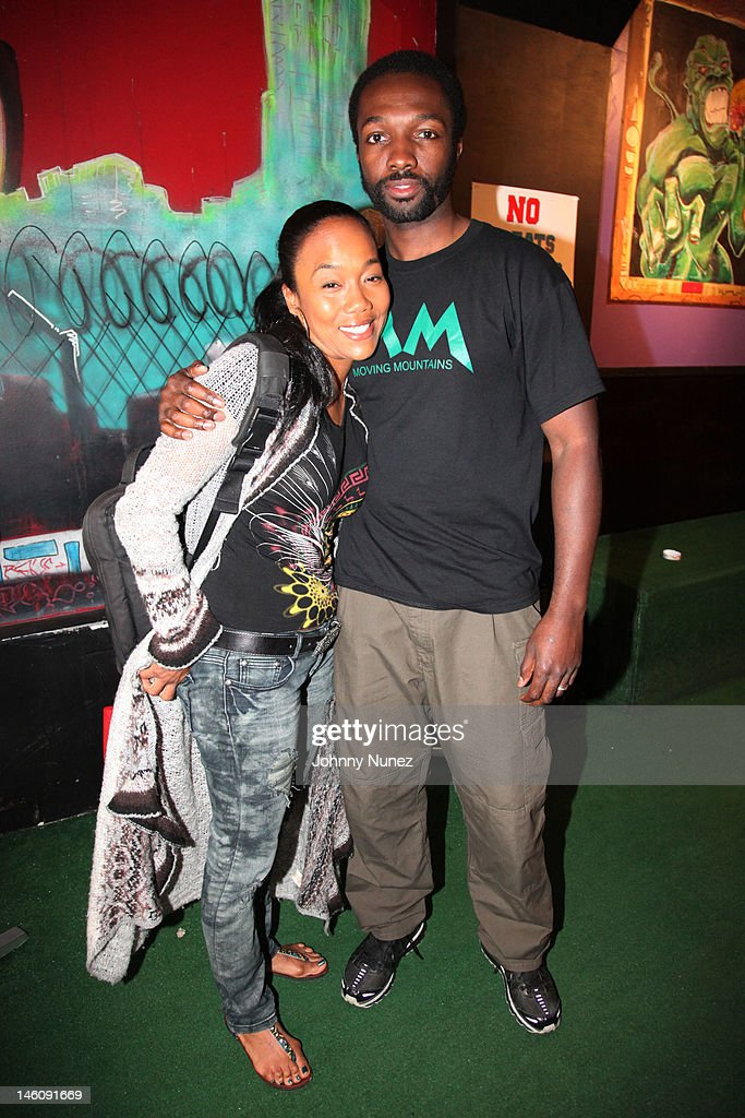 <a gi-track='captionPersonalityLinkClicked' href=/galleries/search?phrase=Sonja+Sohn&family=editorial&specificpeople=224865 ng-click='$event.stopPropagation()'>Sonja Sohn</a> and <a gi-track='captionPersonalityLinkClicked' href=/galleries/search?phrase=Jamie+Hector&family=editorial&specificpeople=666307 ng-click='$event.stopPropagation()'>Jamie Hector</a> attend the Moving Mountains Celebrity Paintball Tournament at NYC Paintball And Laser Tag on June 9, 2012 in New York City.