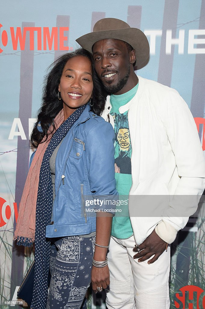 Sonja Sohn and Michael K Williams attend premiere of SHOWTIME drama 'The Affair' held at North River Lobster Company on October 6 2014 in New York...