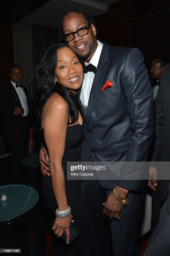 Sonja Sohn and rapper 2 Chainz attend The Hip Hop Inaugural Ball II sponsored by Heineken USA at Harman Center for the Arts on January 20, 2013 in Washington, DC.