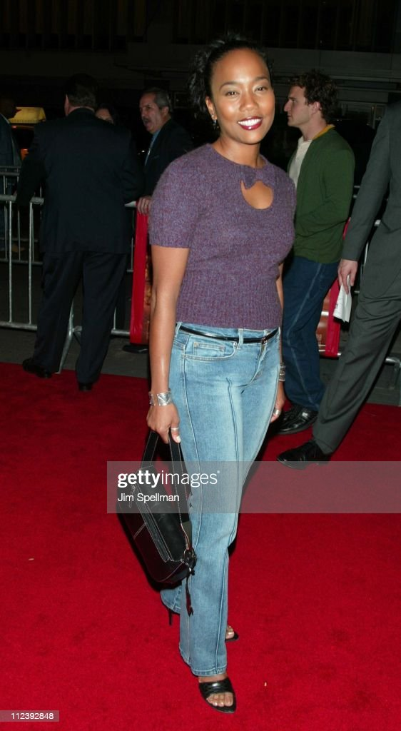 Sonja Sohn during 'Brown Sugar' New York Premiere at The Ziegfeld Theater in New York City New York United States