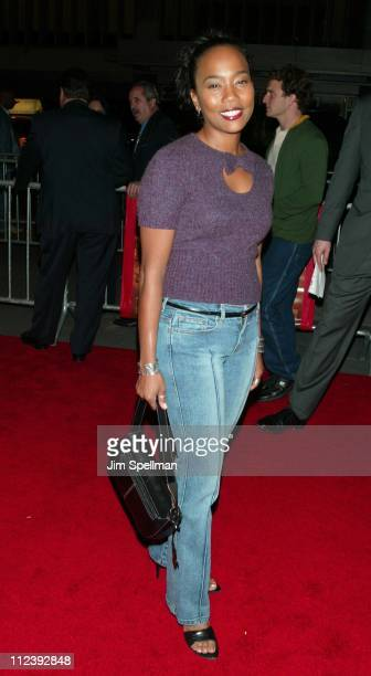 Sonja Sohn during 'Brown Sugar' New York Premiere at The Ziegfeld Theater in New York City New York United States