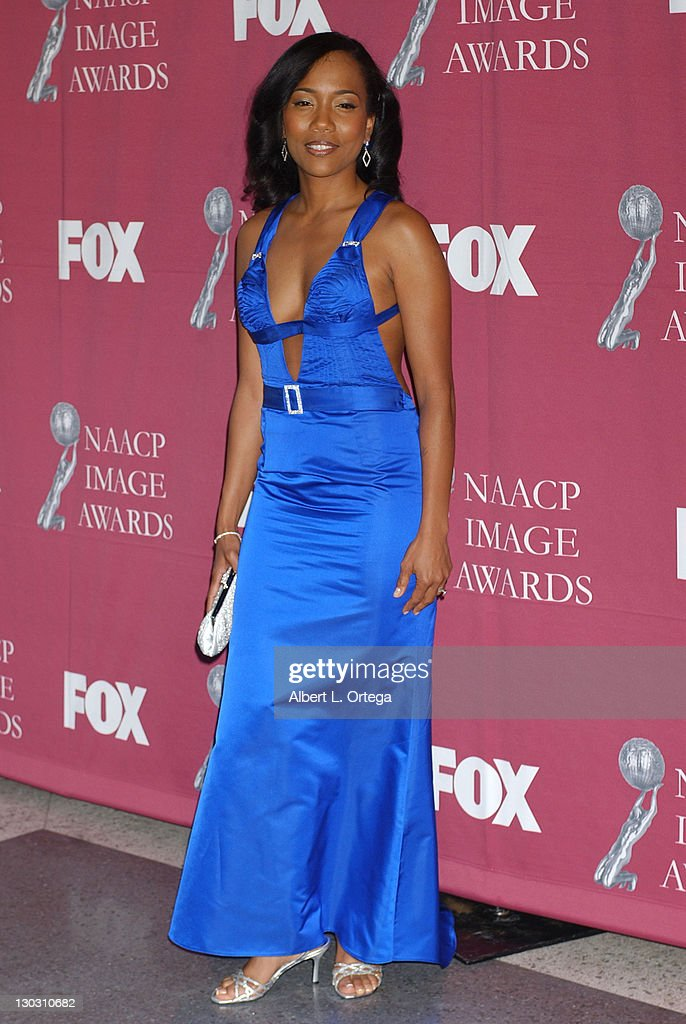 Sonja Sohn during The 36th Annual NAACP Image Awards Arrivals at Dorothy Chandler Pavilion in Los Angeles California United States