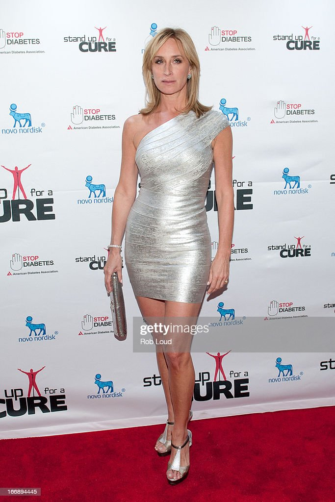 Sonja Tremont-Morgan arrives at Stand Up For a Cure at Madison Square Garden on April 17, 2013 in New York City.