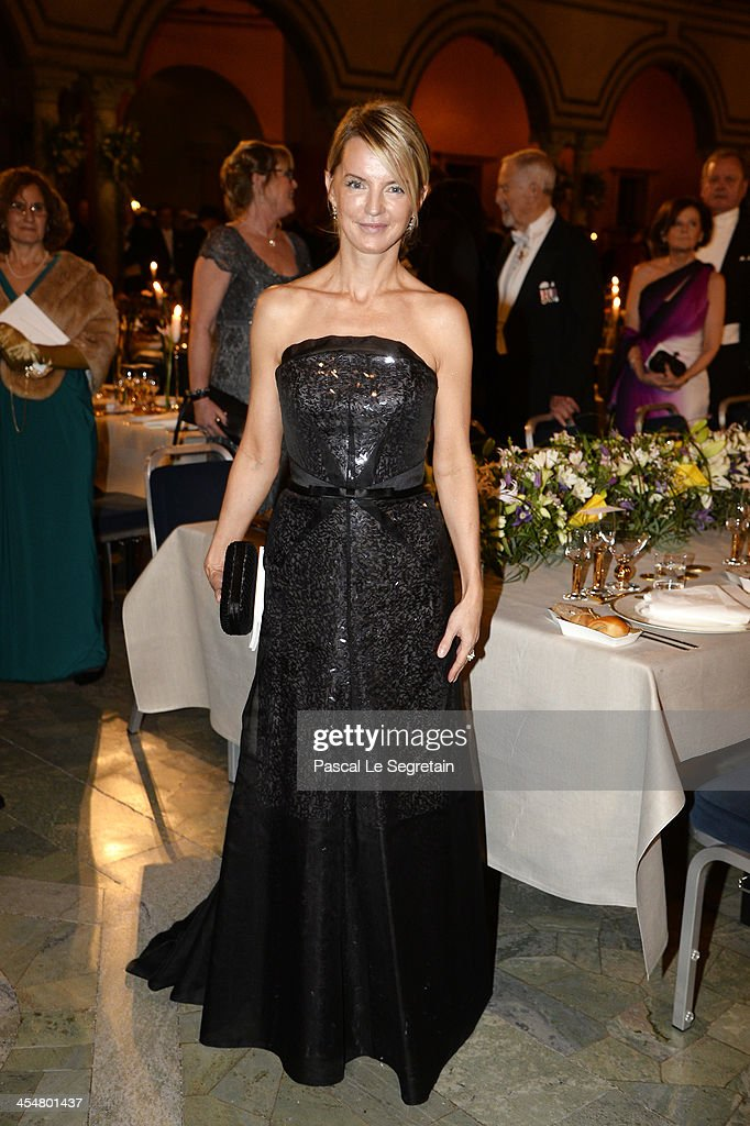 Sonja Wessberg attends the Nobel Prize Banquet after the 2013 Nobel Prize Awards Ceremony at City Hall on December 10, 2013 in Stockholm, Sweden.