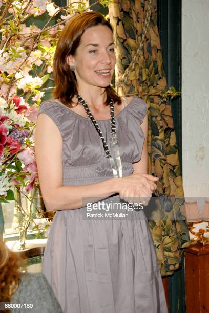 Sonja Winther attends CHANTELLE 60th ANNIVERSARY LUNCHEON at Le Grenouille on May 15 2009 in New York City