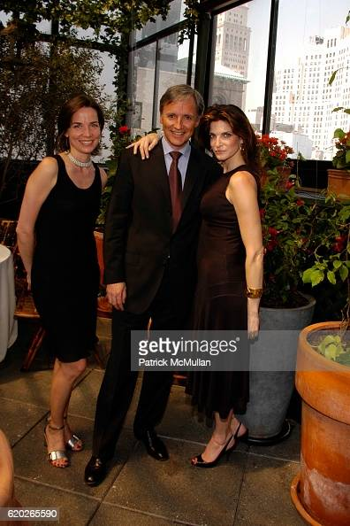 Sonja Winther Patrice Kretz and Stephanie Seymour attend Stephanie Seymour and Patrice Kretz Celebrate the Chantelle Ad Campaign at The Gramercy Park...