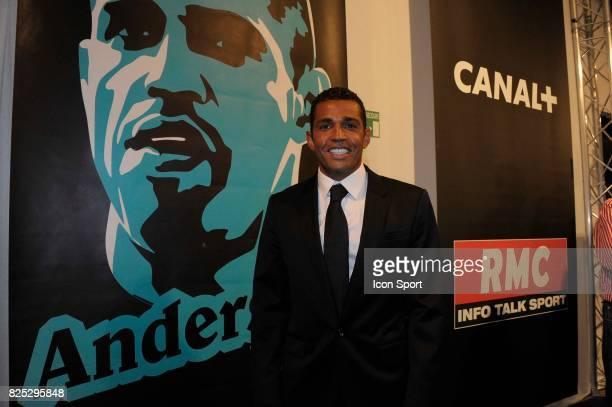 Sonny ANDERSON Meilleur entraineur Ligue 1 Trophee UNFP 2011