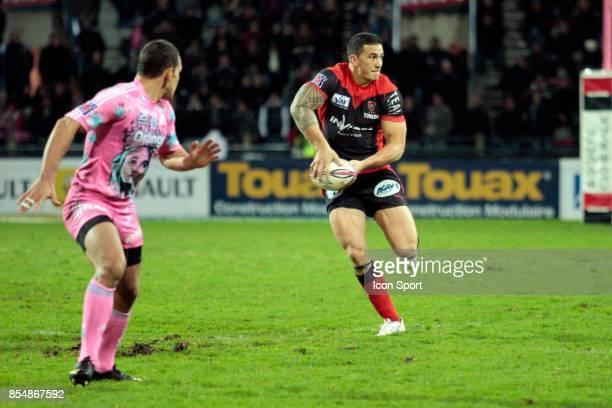 Sonny BILL WILLIAMS Stade Francais / Toulon 14eme journee de Top 14 Stade Jean Bouin Paris
